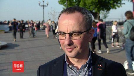 Грицак объяснил, во сколько обошлась рекордно длинная красная дорожка «Евровидения-2017»
