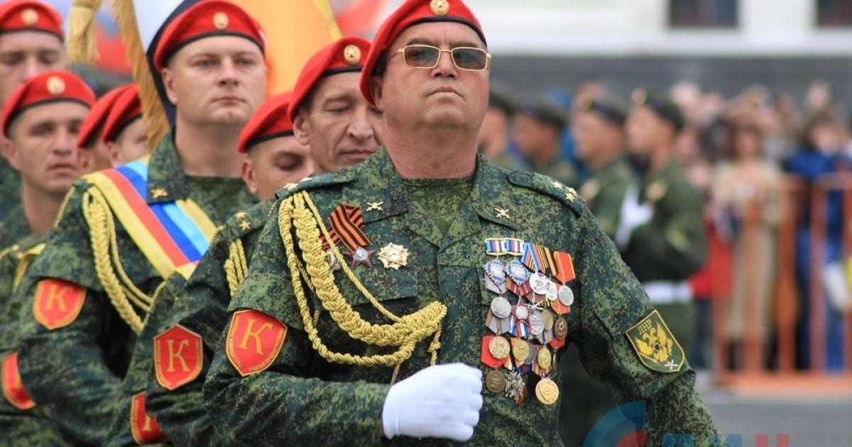 """Военный парад в """"ЛНВ"""""""