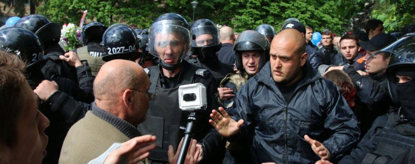 Один из задержаных в Днепре титушек вышел под залог в 128 тысяч гривен