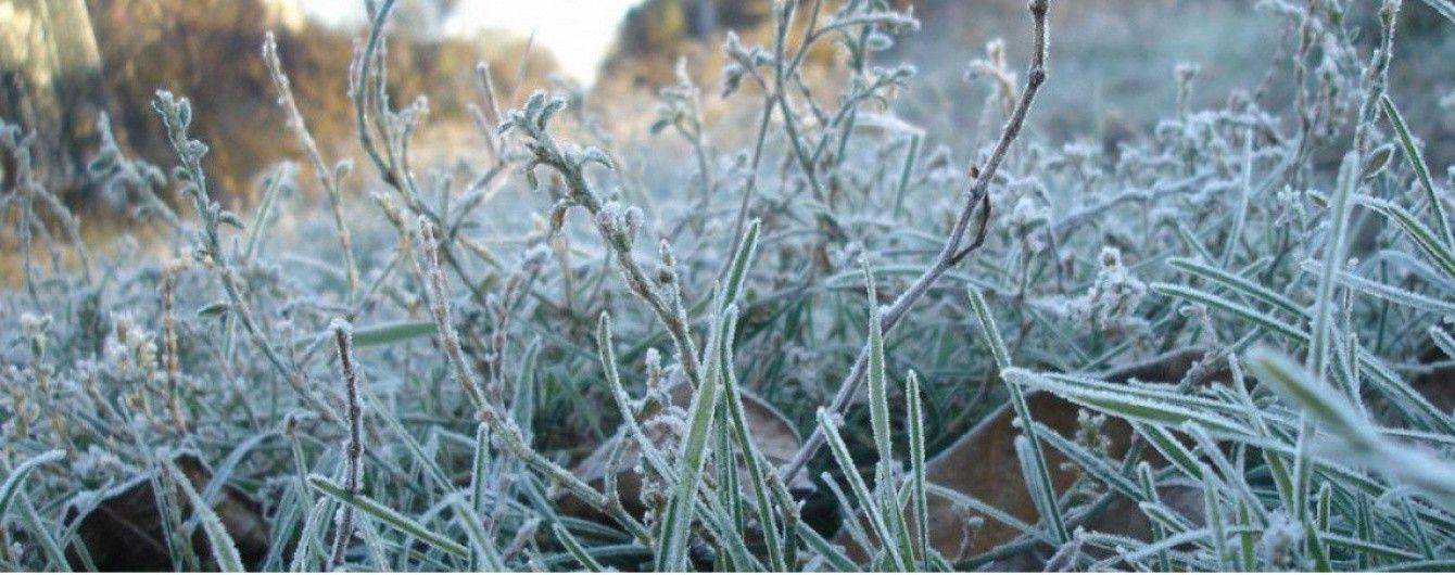Синоптики предупредили о сильных заморозках в двух областях