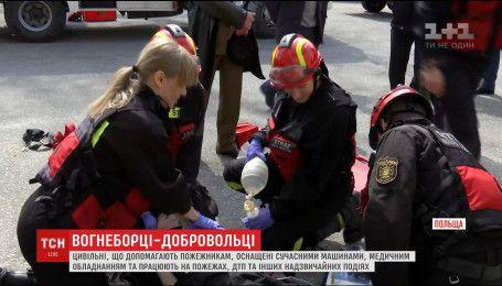У шести областях України розпочалося створення команд добровільної пожежної охорони