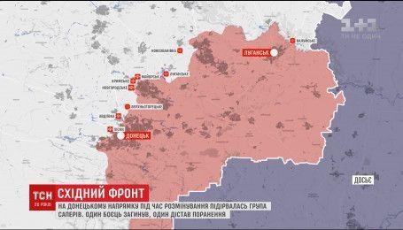 Двоє українських бійців загинули за добу в зоні АТО