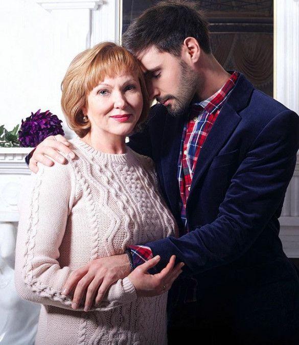 Віталій Козловський з мамою