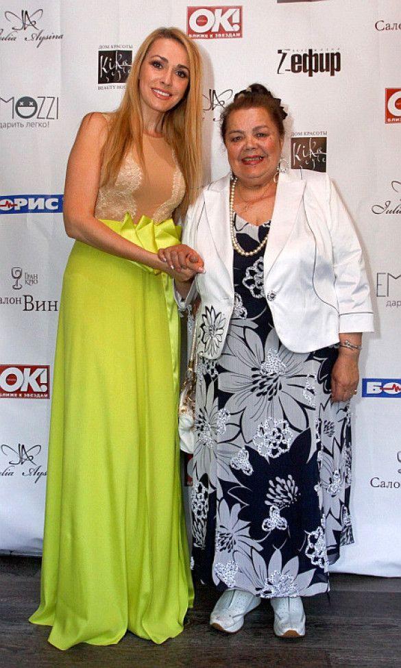 Ольга Сумська з мамою