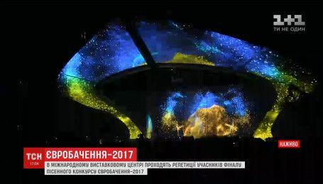 В Международном выставочном центре проходят репетиции финалистов Евровидения