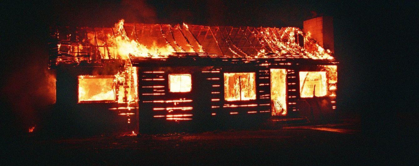 На Харьковщине в пожаре погибла женщина и двое ее детей