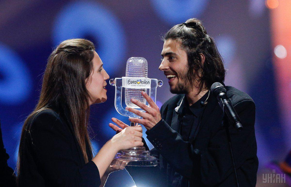 """Сальвадор Собрал """"Євробачення-2017"""" прес-конференція_4"""