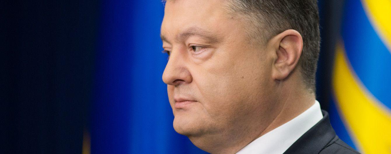 Порошенко повідомив, скільки українців мають на руках біометричні паспорти