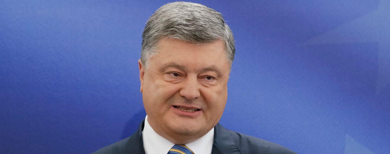 Поступок сына, обострение в АТО и зад на Евровидении: о чем Порошенко говорил на пресс-конференции
