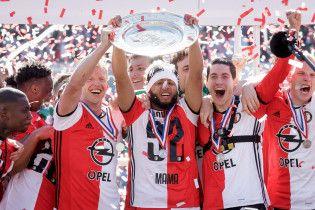 """""""Фейєноорд"""" вперше за 18 років став чемпіоном Нідерландів"""