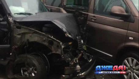 Lexus со специалистом НАБУ попал в ДТП
