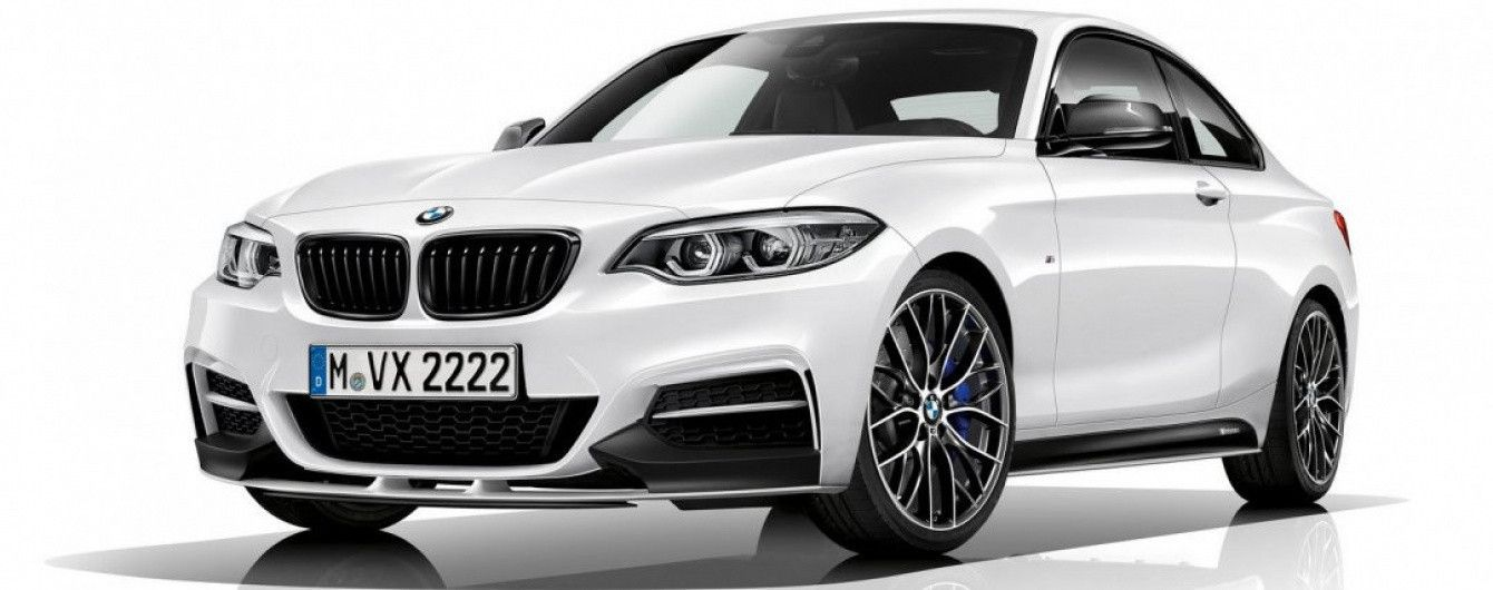 Баварцы добавили индивидуальности купе BMW M240i