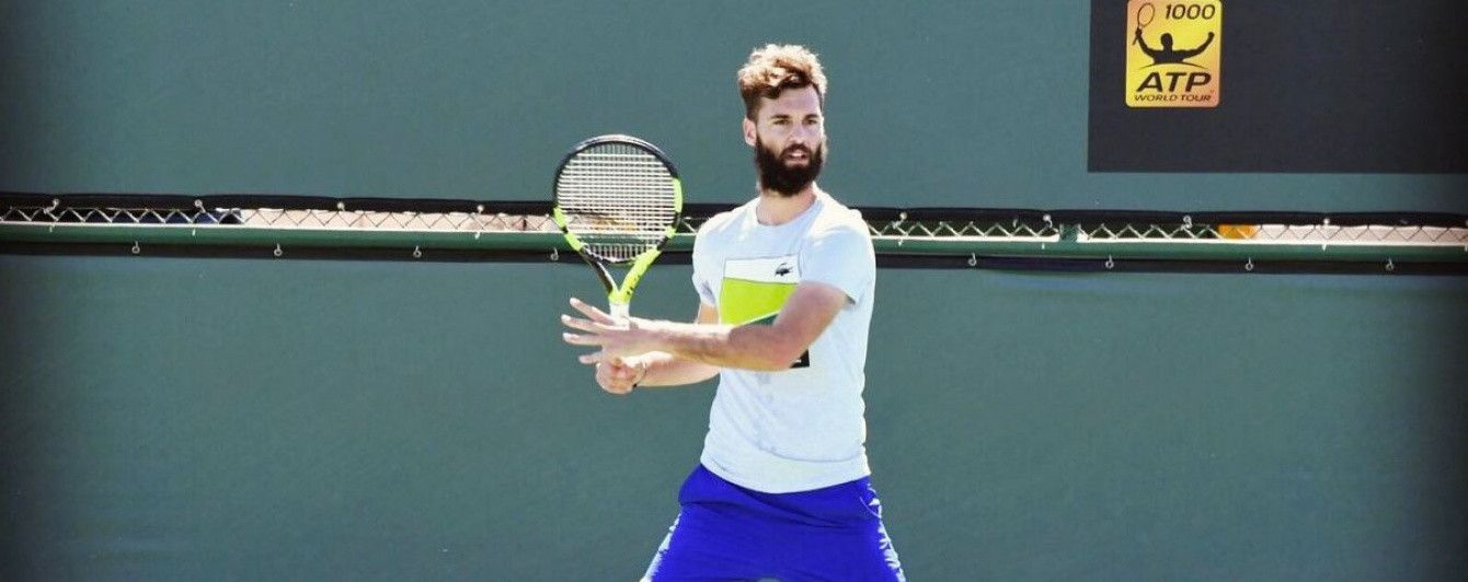 Французский теннисист сломал две ракетки и стул в одном матче турнира в Риме