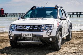 Кроссовер Dacia Duster обзавелся спецверсией Strongman Extra Limited Edition