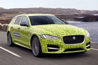 Jaguar опубликовал видео тестового прототипа универсала XF Sportbrake