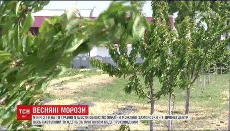 В Украину вернутся морозы