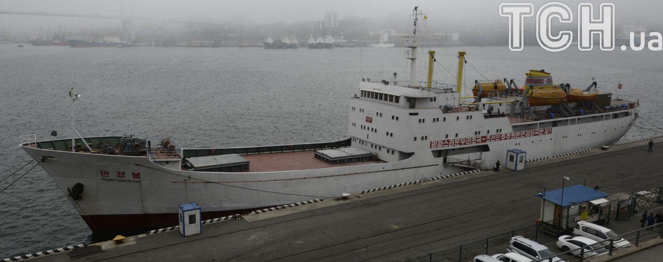 У берегов Владивостока судно КНДР подало сигнал SOS