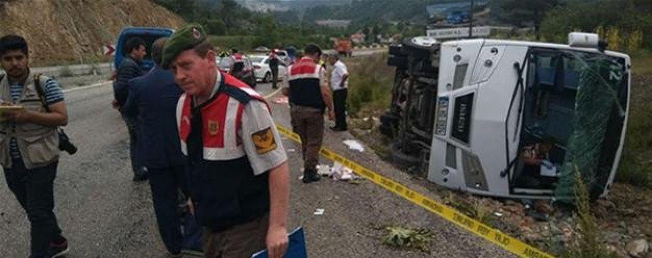 У Туреччині перекинувся автобус з українськими туристами: є постраждалі