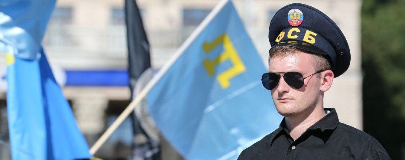 Оккупанты на два месяца арестовали шестерых задержанных в Бахчисарае крымских татар