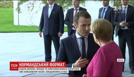 Петро Порошенко планує зустріч з Ангелою Меркель та Еммануелем Макроном