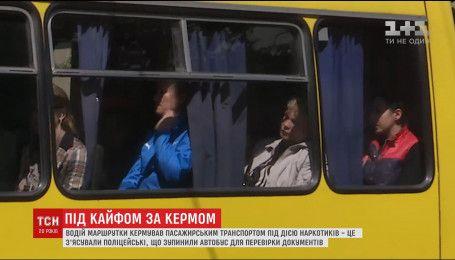 Водій маршрутки у Рівному возив пасажирів під кайфом