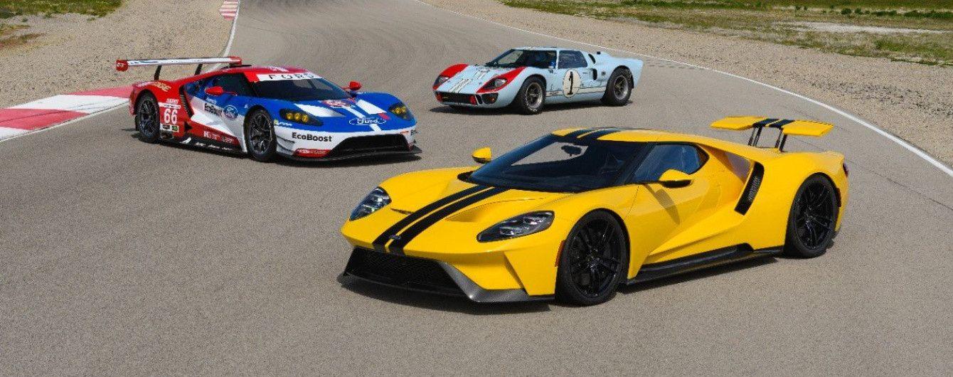 В погоне за будущим: суперкар Ford GT создан для испытания технологий будущего