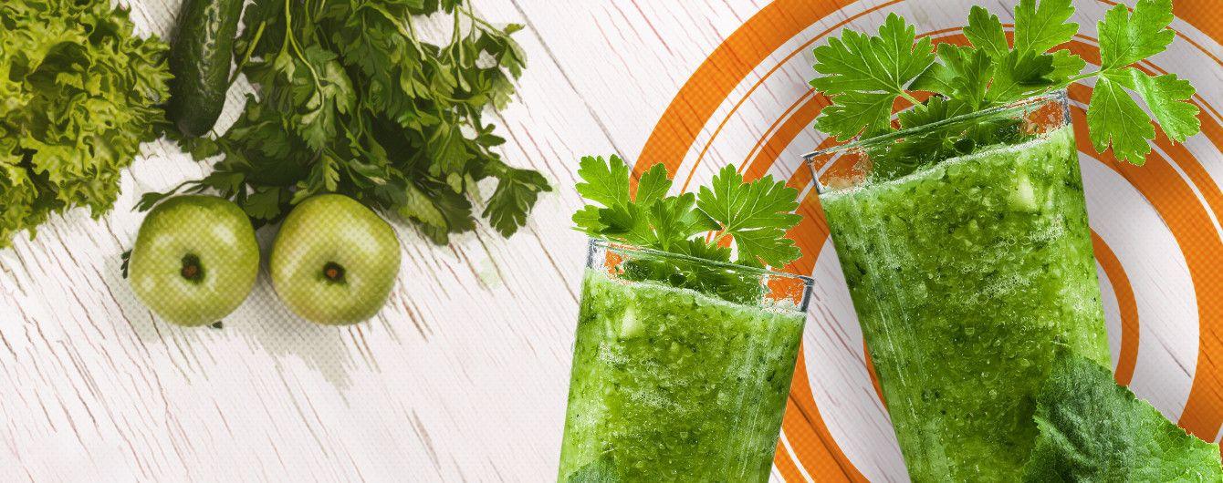 зелёные коктейли рецепты какую зелень использовать