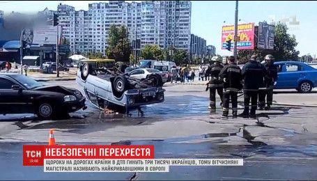 Причини постійних кривавих аварій на українських дорогах