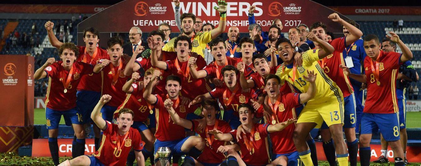 Збірна Іспанії виграла Євро-2017