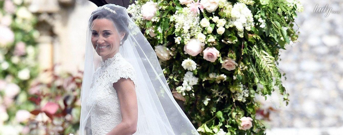 Свадебное платье Пиппы Миддлтон: образ в деталях