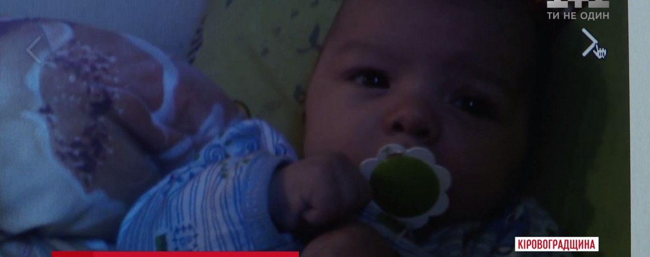 На Кіровоградщині молодий вітчим забив до смерті 5-місячне немовля