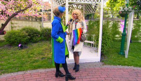 Травесті-діва Монро розповіла, як відривалася на вечірках Євробачення з  ЛГБП-спільнотою