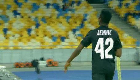 Динамо - Зоря - 1:2. Відео голу Бонавентуре