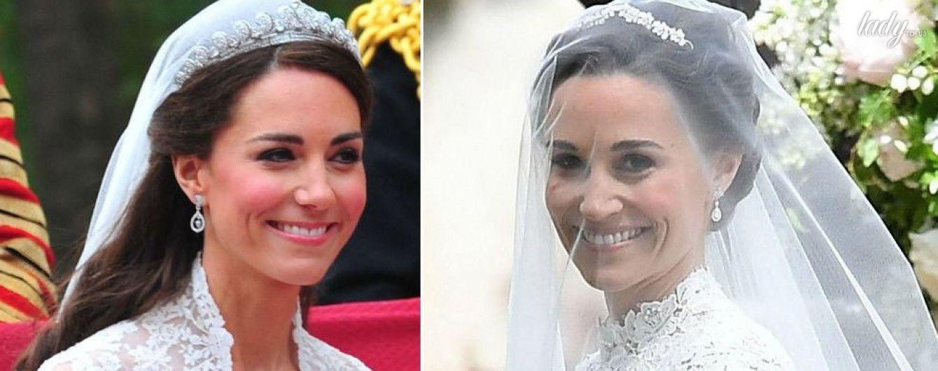 Чье свадебное платье красивее: Пиппы Миддлтон vs герцогини Кембриджской