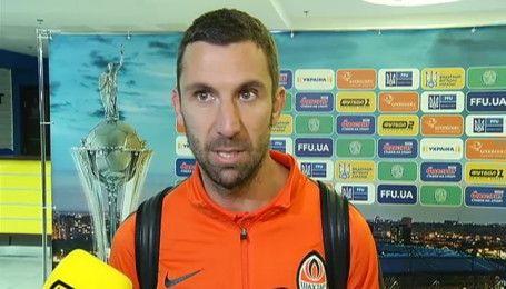 Игроки Шахтера прокомментировали победу в Кубке Украины
