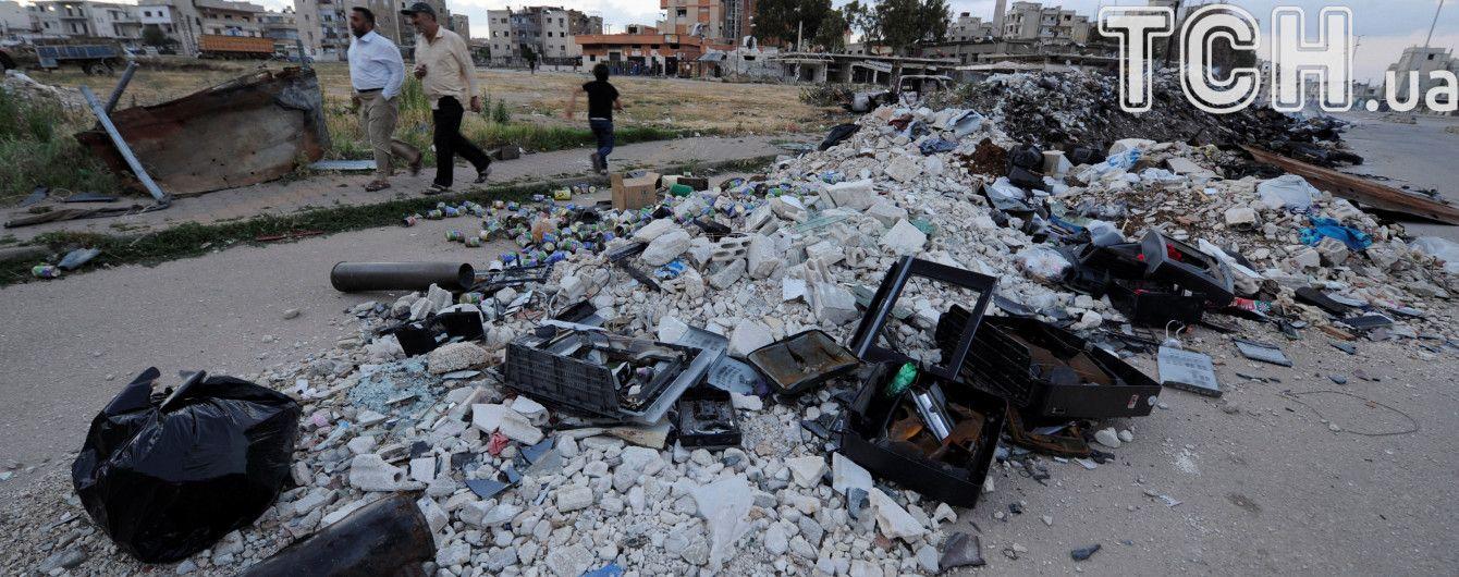 В лагере для беженцев в Сирии прогремел взрыв: погибли десятки людей