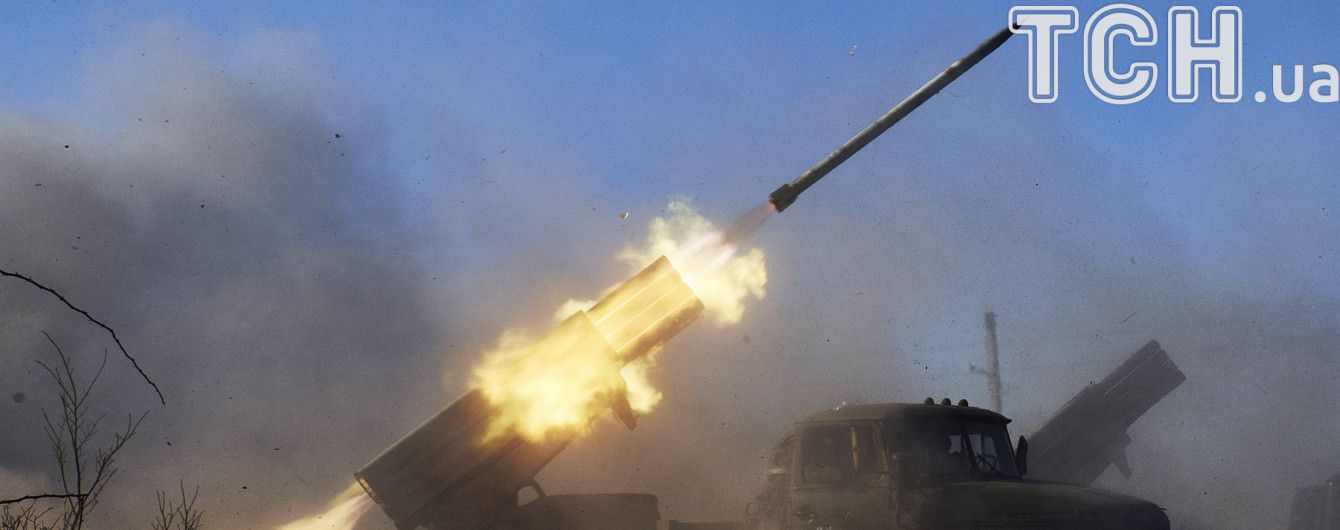 Під Донецьком бойовики обстріляли українських військових з реактивних систем залпового вогню