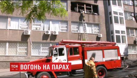 В Одесі внаслідок пожежі в будівельній академії постраждала студентка