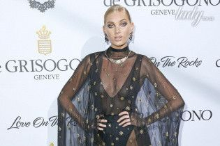 Звезды в прозрачных нарядах на вечеринке ювелирного бренда de Grisogono