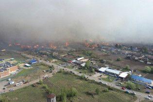 Огненный апокалипсис: в Сибири горят сотни домов, есть жертвы