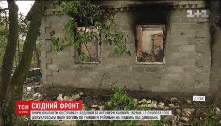 Ночью оккупанты усилили обстрелы на Донбассе