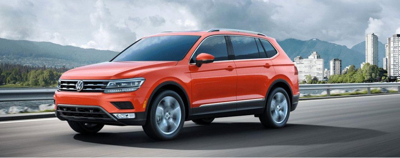 Volkswagen Tiguan получит новый мотор