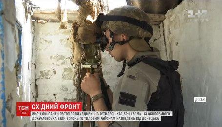 З боку окупованого Докучаївська обстріляли околиці Волновахи та селище Ольгінка