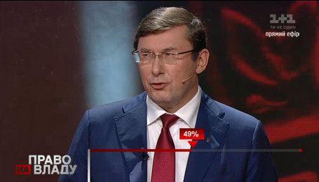 Луценко признался, что в НАБУ против него есть дело