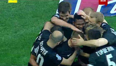Черноморец - Заря - 0:1. Видео гола Паулиньо