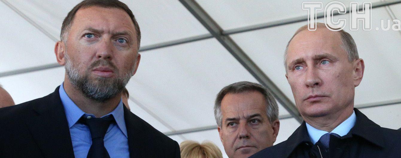 Європа просить США зняти санкції з фірм російського олігарха Дерипаски