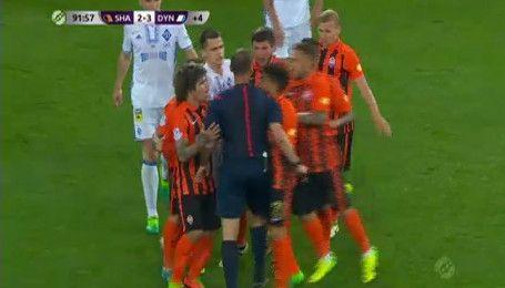 Фонсека недоволен судейством на матче Шахтер - Динамо - 2:3