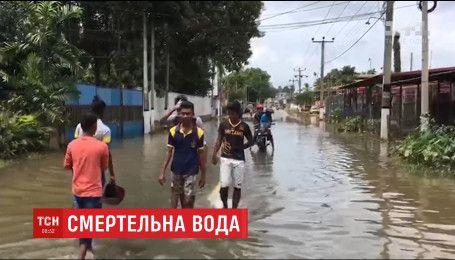 Щонайменше півтори сотні людей загинули у Шрі-Ланці через потужну повінь