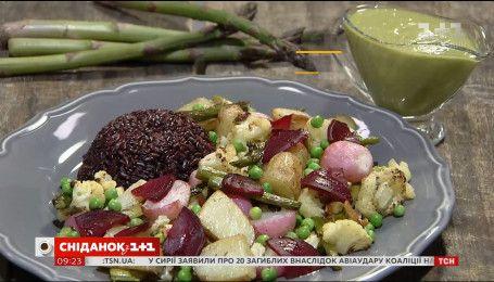 Теплий салат з редисом – рецепти Сенічкіна