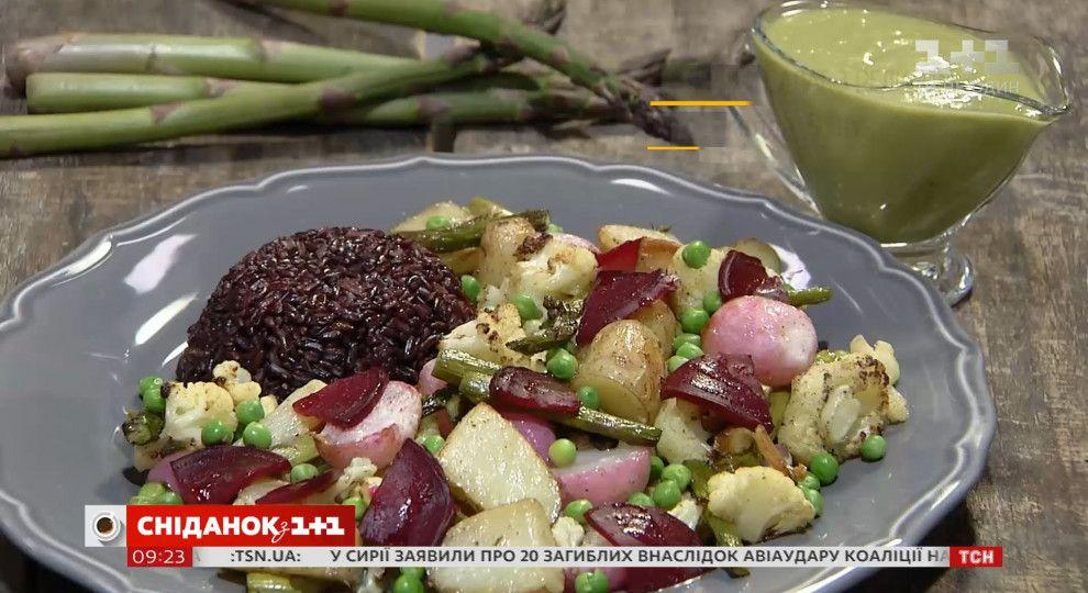салат с тыквой и редисом рецепты